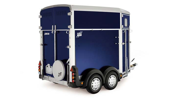 Blue Ifor Williams Horsebox HB403