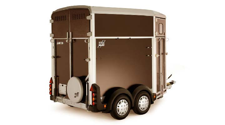 Graphite Ifor Williams Horsebox HB403